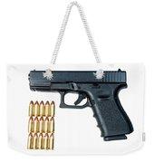 Glock Model 19 Handgun With 9mm Weekender Tote Bag