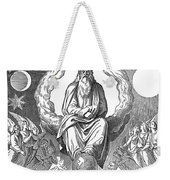 God Resting On 7th Day Weekender Tote Bag