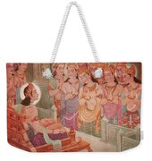 Gods Entertaining Mahavira Weekender Tote Bag