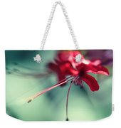 Grace. Natural Watercolor. Touch Of Japanese Style Weekender Tote Bag