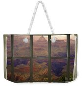 Grand Canyon Springtime Bay Window View Weekender Tote Bag