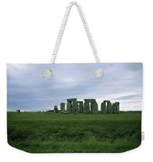 Gray Clouds Over The Ancient Ruins Weekender Tote Bag