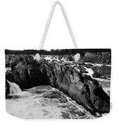 Great Falls Virginia Bw Weekender Tote Bag