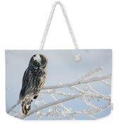 Great Grey Owl, Northern British Weekender Tote Bag