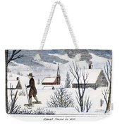 Great Snow Of 1717 Weekender Tote Bag