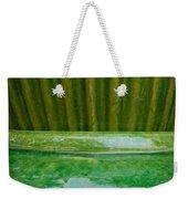 Green Pottery Weekender Tote Bag