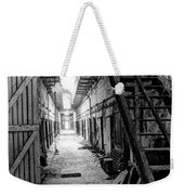 Grim Cell Block In Philadelphia Eastern State Penitentiary Weekender Tote Bag