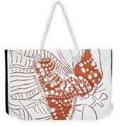Guardian Angel - Tile Weekender Tote Bag