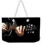 Guitar In Hands  Weekender Tote Bag