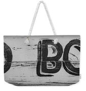 Hand Painted Old Bones Sign Weekender Tote Bag
