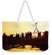 Hapenny Bridge, Dublin, Co Dublin Weekender Tote Bag