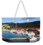 Harbor Paradise Weekender Tote Bag