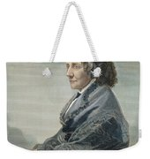 Harriet Beecher Stowe Weekender Tote Bag