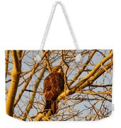 Hawk In A Tree Weekender Tote Bag