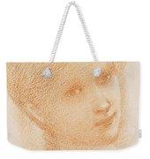 Head Study Of A Girl Weekender Tote Bag