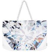 Heart Diamond  Weekender Tote Bag