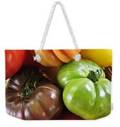 Heirloom Tomatoes Weekender Tote Bag by Elena Elisseeva