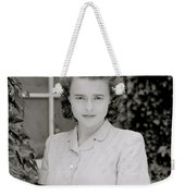 Actress Helena Bonham Carter  Weekender Tote Bag