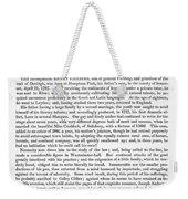 Henry Fielding (1707-1754) Weekender Tote Bag