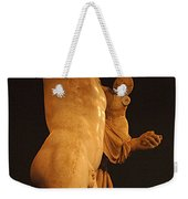 Hermes And The Infant Weekender Tote Bag by Bob Christopher