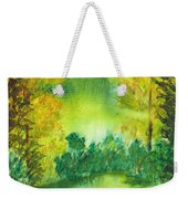 Hidden Pond Weekender Tote Bag