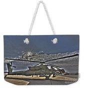 High Dynamic Range Photo Of An  Ah-64d Weekender Tote Bag