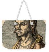Hippocrates, Greek Physician Weekender Tote Bag