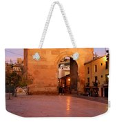Historic Door In Granada Elvira Arch Weekender Tote Bag