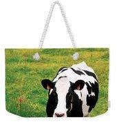 Holstein Dairy Cattle Weekender Tote Bag