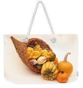 Horn Of Plenty Weekender Tote Bag