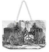 Horse Carriage, 1853 Weekender Tote Bag