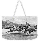 Horse Racing, 1900 Weekender Tote Bag by Granger