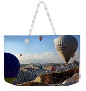 Hot Air Balloons Over Cappadocia Weekender Tote Bag