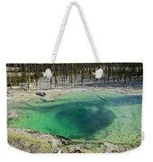 Hot Springs Yellowstone National Park Weekender Tote Bag