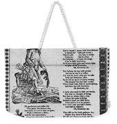 Hunters Of Kentucky, 1815 Weekender Tote Bag