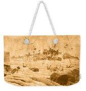 Hurricane, 1815 Weekender Tote Bag