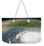 Hurricane Rita Weekender Tote Bag