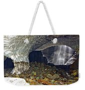 Ice Caves Weekender Tote Bag