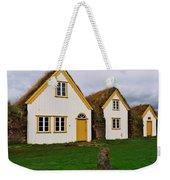 Icelandic Turf Houses Weekender Tote Bag