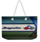 Impala Brightwork Weekender Tote Bag by Douglas Pittman
