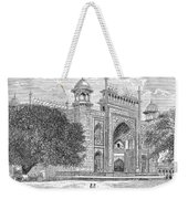 India: Taj Mahal Weekender Tote Bag