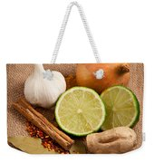 Ingredients Weekender Tote Bag by Tom Gowanlock
