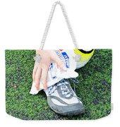 Injured Ankle Weekender Tote Bag