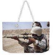 Iraqi Army Sergeant Sights Weekender Tote Bag