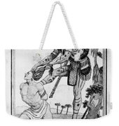 Iroquois Warrior Weekender Tote Bag