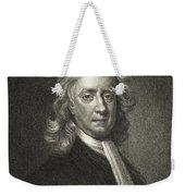 Isaac Newton, English Polymath Weekender Tote Bag