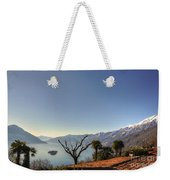 Islands On An Alpine Lake Weekender Tote Bag