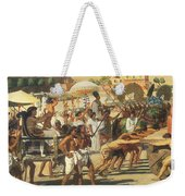 Israel In Egypt Weekender Tote Bag by Sir Edward John Poynter