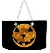 Jack-o-lantern Moon Weekender Tote Bag