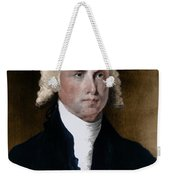 James Madison, 4th American President Weekender Tote Bag by Photo Researchers
